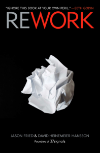 Cover shot of Rework
